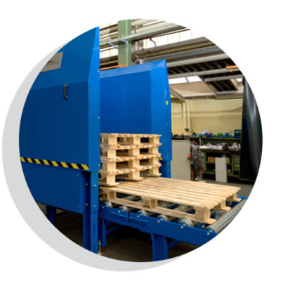 Palettenmagazin Logistik Systeme Logistikmanagement Lagermanagement Materialflusssysteme Baust
