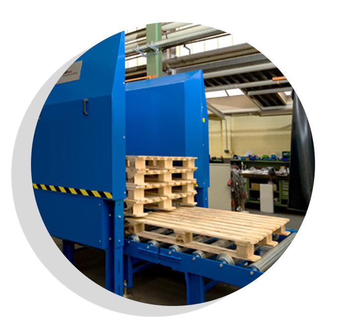Palettenmagazin Logistik Systeme Logistikmanagement Lagermanagement Materialflusssysteme Baust