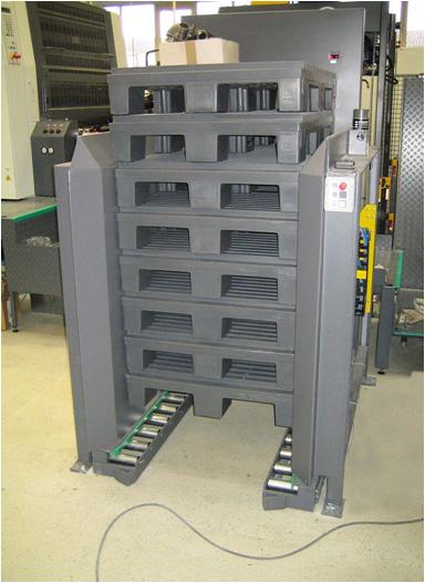 Palettenmagazin Logistik Systeme Logistikmanagement Materialflusssysteme Baust