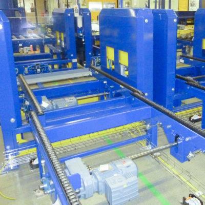 Palettenmagazin Logistik Systeme Paletten Industrie Lagermanagement Foerdertechnik Baust Materialflusssysteme