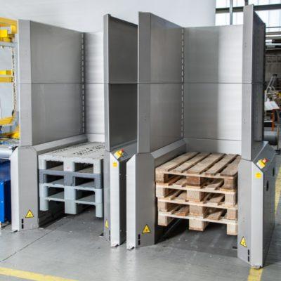 Palettenmagazin Logistik Systeme Paletten Lagermanagement Foerdertechnik Baust Materialflusssysteme