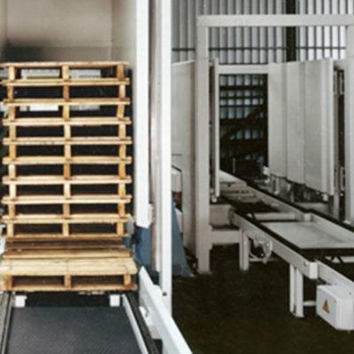 Palettenmagazin Logistikmanagement Logistik Systeme Lagermanagement Materialflusssysteme Baust