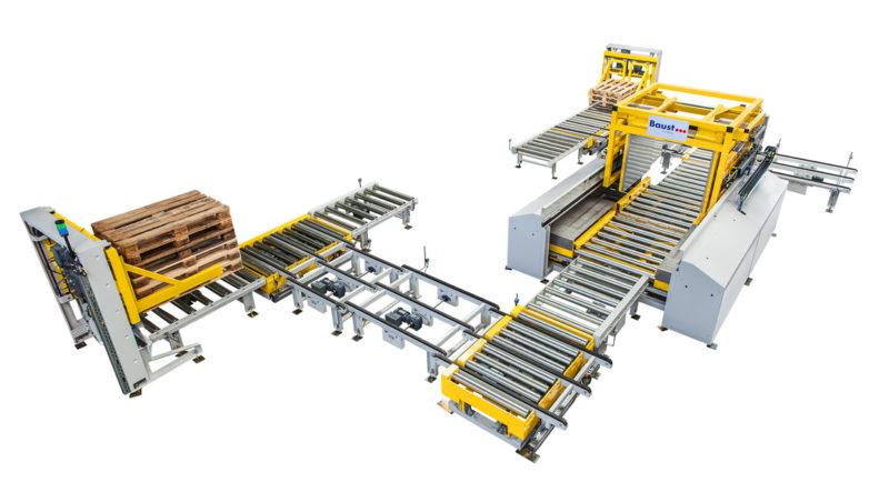 Palettenwechsler Materialflusssysteme Industrie Baust Komplettsysteme