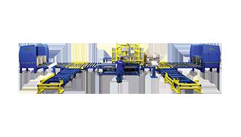 Palettenwechsler Materialflusssysteme Paletten Industrie Baust