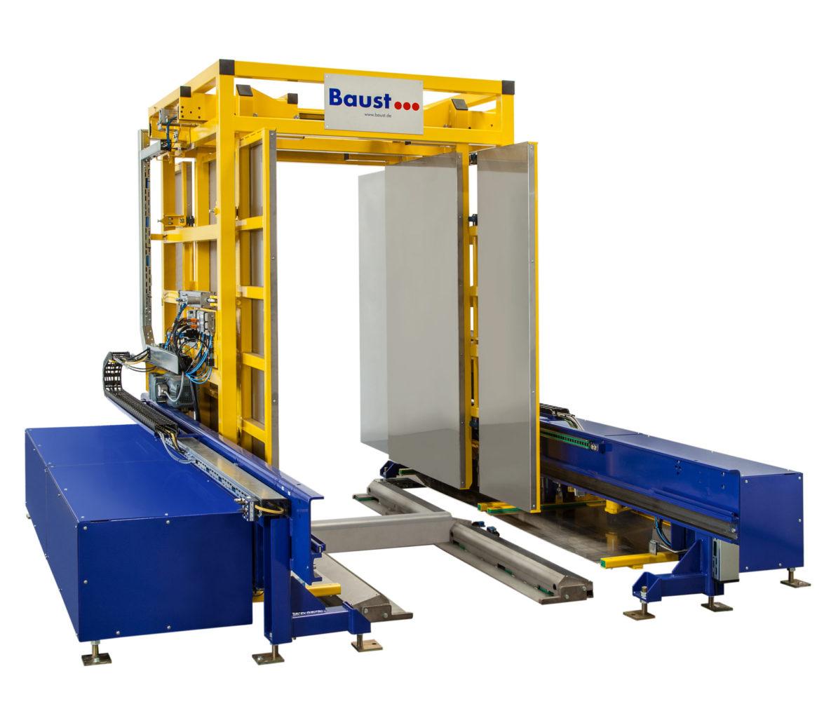 Palettenwechsler Pw 3000 Palettenwender Materialflusssysteme Baust 5685 Weiß