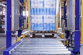 Plattenwechsler Materialflusssysteme Stanztechnologie Rollen Automation Baust Gruppe Unternehmen
