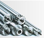 Praezisionswalzen Trommeln Materialflusssysteme Stanztechnologie Rollen Automation Baust