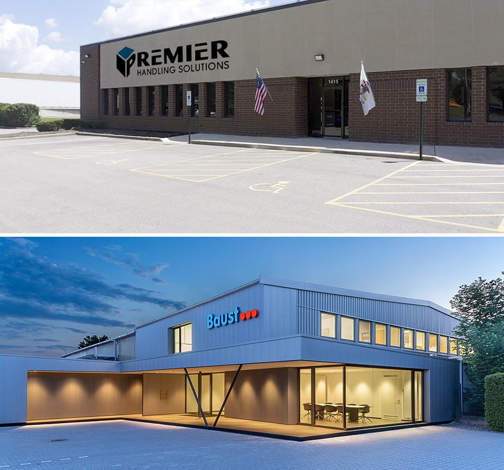 Premier Handling Solutions Baust Gruppe Materialflusssysteme Germany Usa