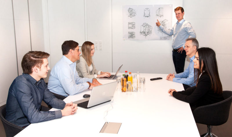 Projektierung Baust Team Anlagen Palettenwechsler Engineering Konstruktion