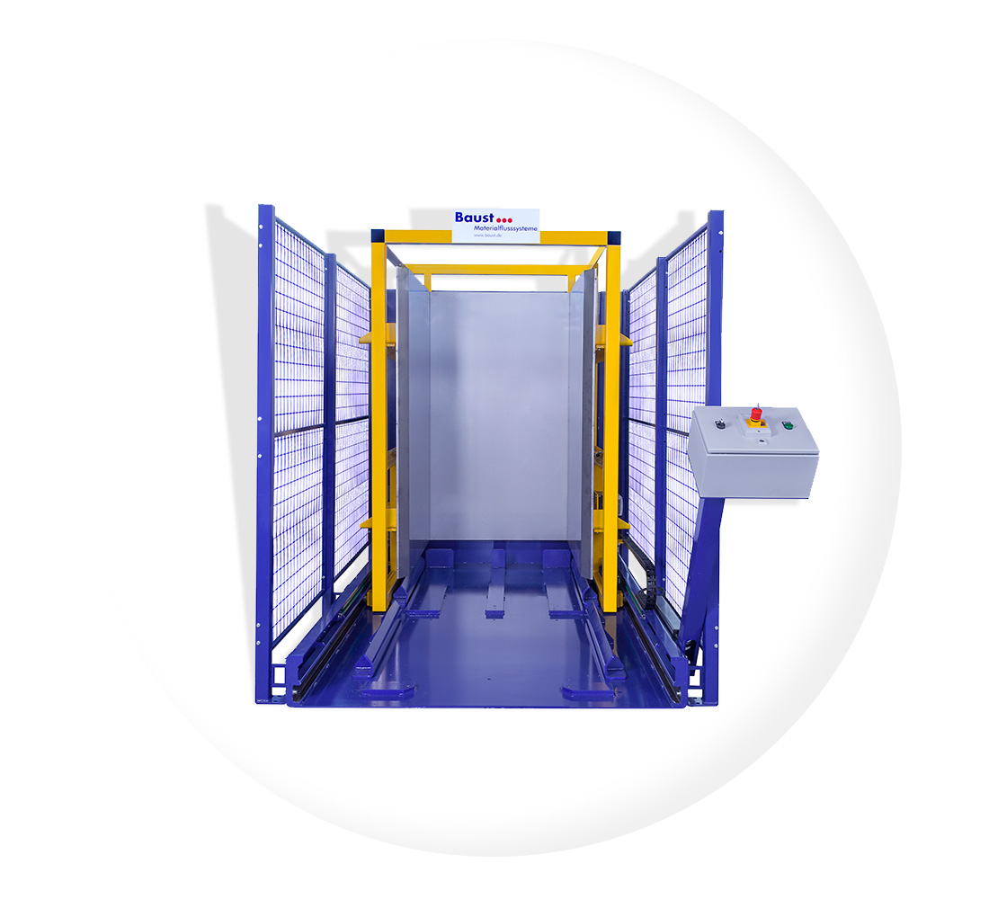 Pw 1000 Ueberschiebeverfahren Palettenwechsler Paletten Wechseln Materialflusssysteme Baust