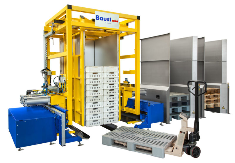 Pw 2000 H Hybrid Palettenwechsler Schieben Klemmen Lager Waren Logistik Baust Materialflusssysteme