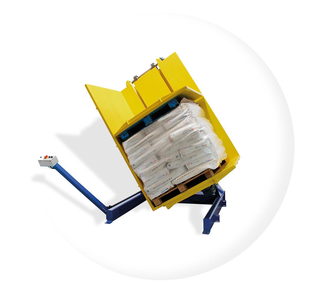 Pw 600 Dreh Kippverfahren Palettenwechsler Modelle Paletten Wechseln Materialflusssysteme Baust