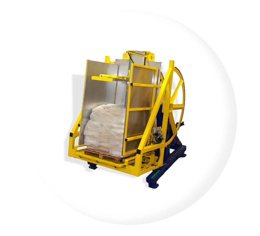 Pw 800 Dreh Kippverfahren Palettenwechsler Paletten Wechseln Materialflusssysteme Baust