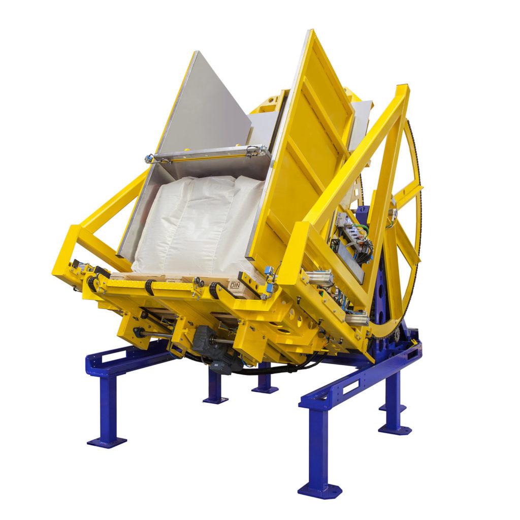 Pw 800 Inline Palettenwender Logistik Foerdertechnik Baust Materialflusssysteme