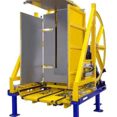Pw 800 Inline Palettenwender Logistik Foerderung Baust Materialflusssysteme