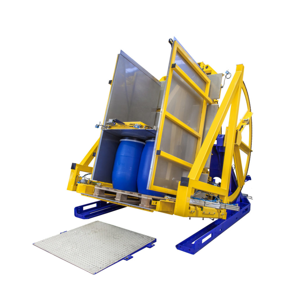 Pw 800 Palettenwender Logistik Foerdertechnik Baust Materialflusssysteme