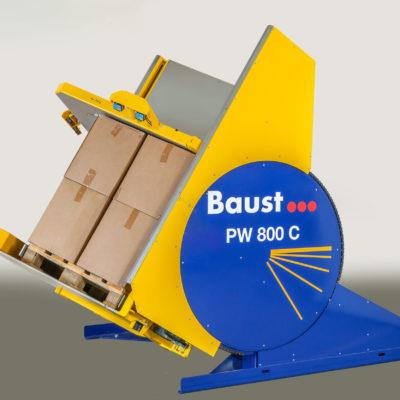 Pw 800c Palettenwender Logistik Foerderung Baust Materialflusssysteme Ldaung