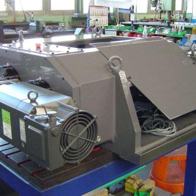Rotations Rollen Druck Stanztechnologie Anwendung Rollen Automation Baust Gruppe3
