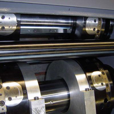 Rotations Rollen Druck Stanztechnologie Anwendung Rollen Automation Baust Gruppe4