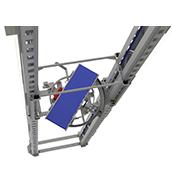 Sekrechtfoerderer Palettenhandling Materialflusssysteme Paletten Industrie Baust