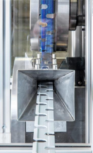 Stanzmaschine Stanzeinschub Stanzwerkzeug Industrie Rotationsstanze Kunststoff