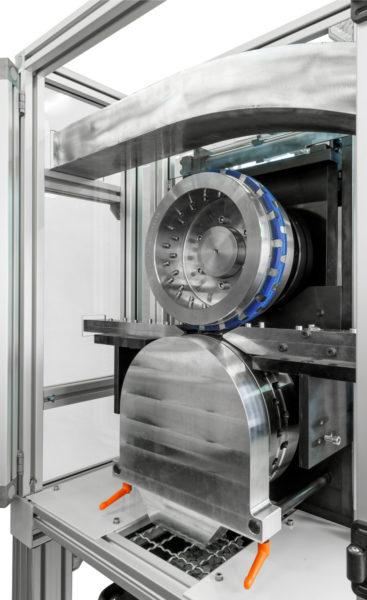 Stanzmaschine Stanzeinschub Stanzwerkzeug Rotationsstanze Kunststoffindustrie