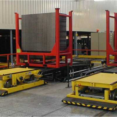 Verfahrwagen Logistik Systeme Logistikmanagement Verteilerwagen Lagermanagement Materialflusssysteme Baust