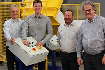 Vertretung Frankreich Materialflusssysteme Stanztechnologie Rollen Automation Baust Gruppe Unternehmen