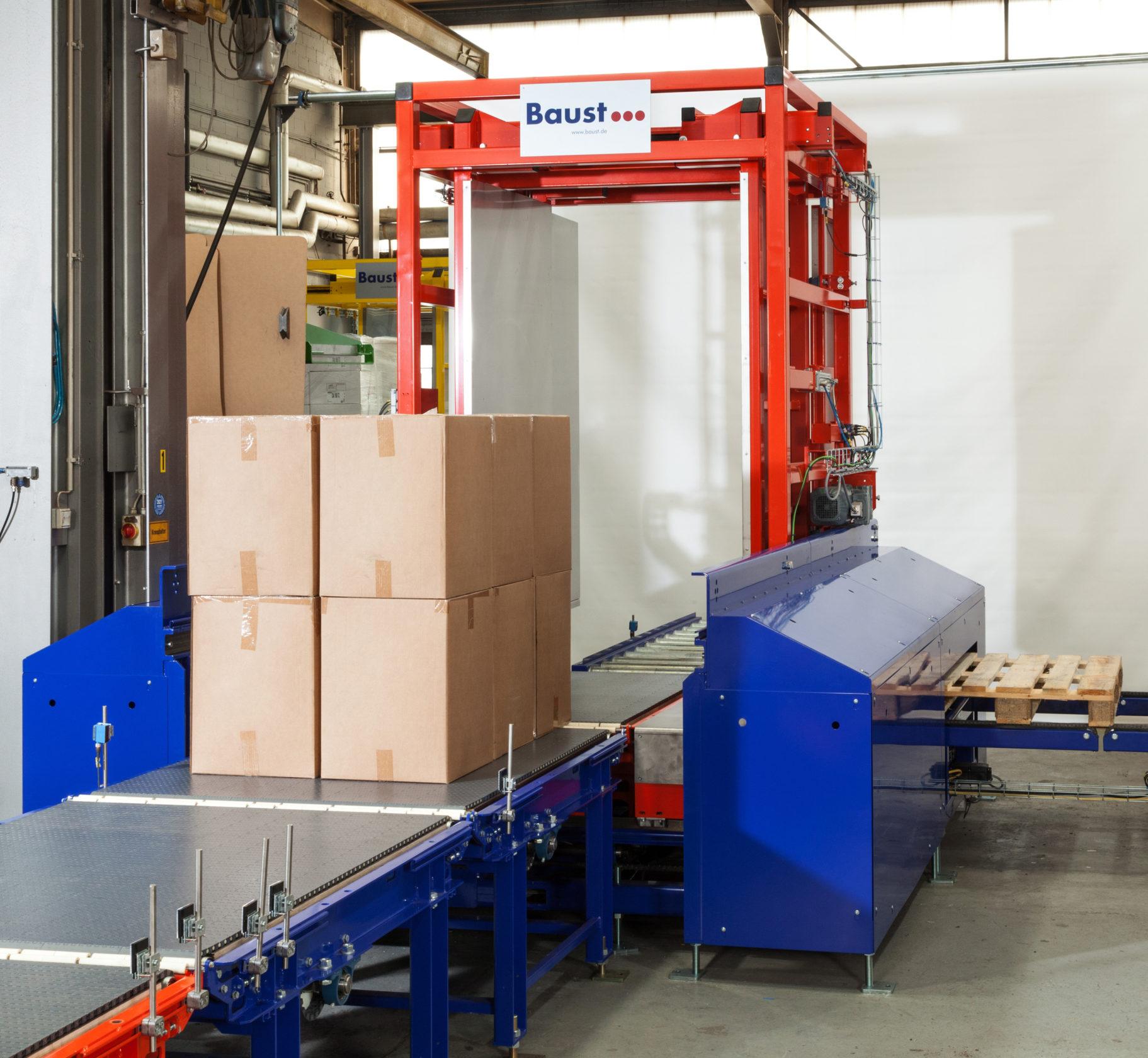 Vollautomatische Palettierer Depalettierer Automatic Palletizing Depalletizing Intralogistics Baust Dp 6000 5
